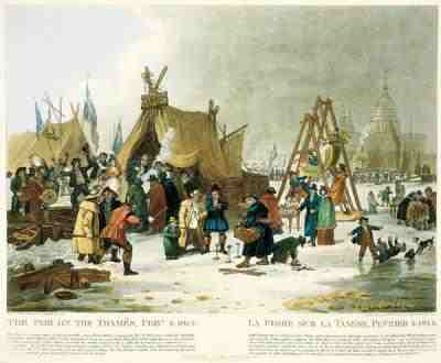 The Little Ice Age and London's Frost Fairs (1/2)