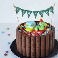 eine torte zur einschulung, und ein paar tricky kindheitserinnerungen