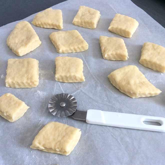 recette de biscuits découpe