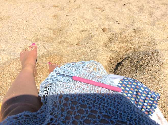brise d'été à la plage