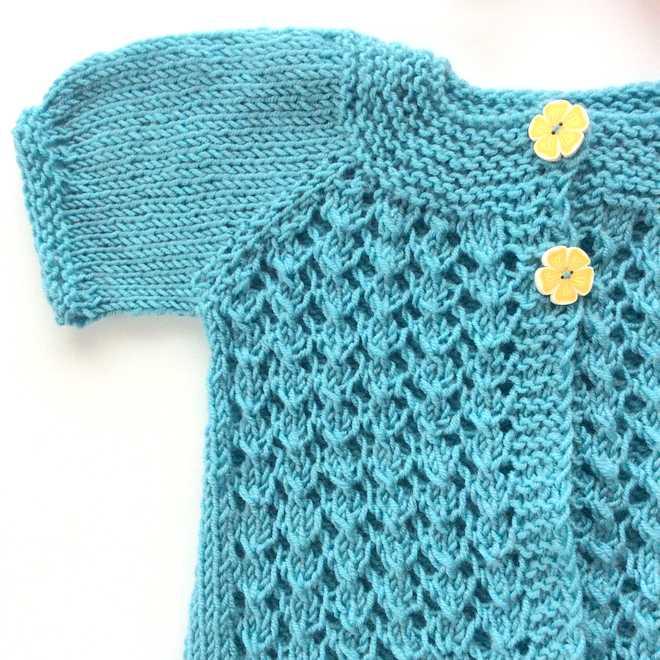 veste fille modèle tricot