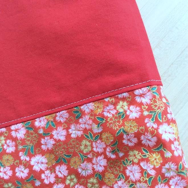 zoom tissu japonais
