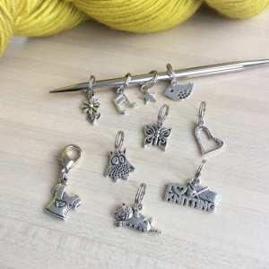 Des anneaux marqueurs pour les reines du tricot