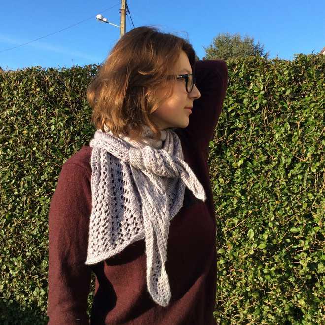 écharpe au tricot Kettricken