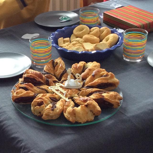 étoile au nutella et biscuits recette