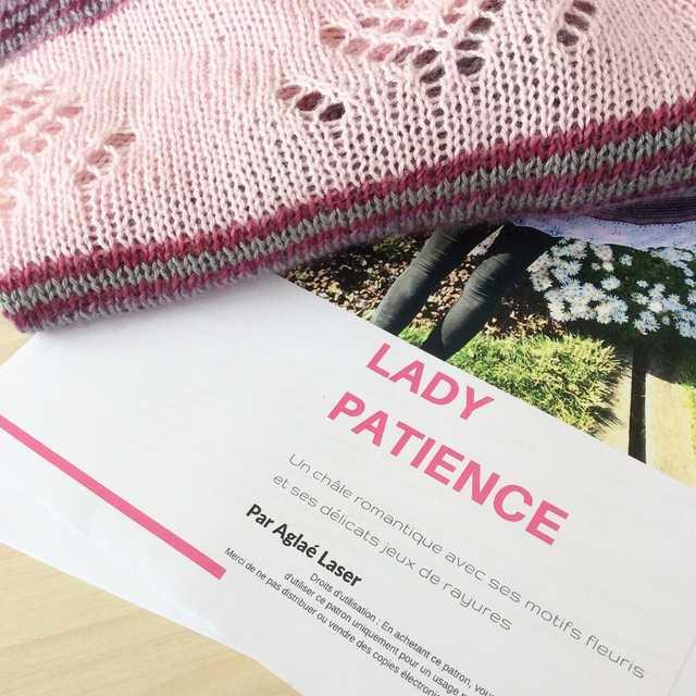 Lady Patience format papier