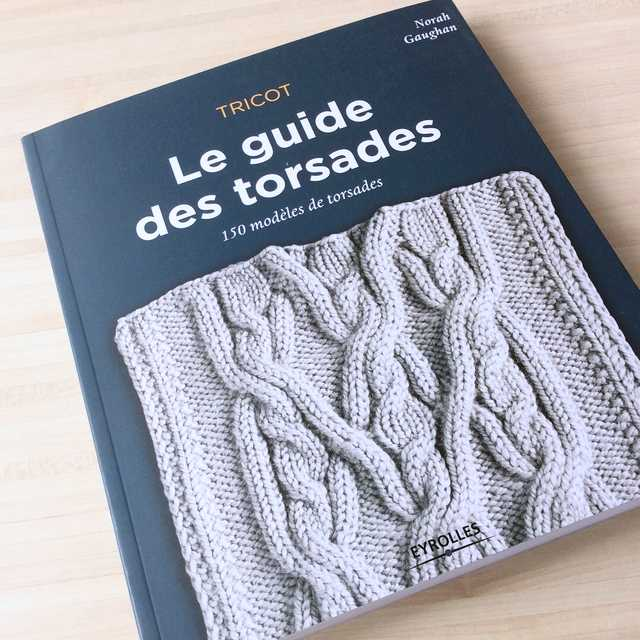 le guide des torsades livre éditions Eyrolles
