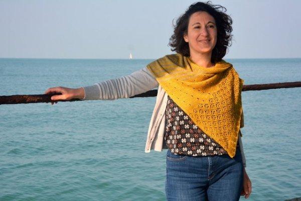 châle tricot Danio