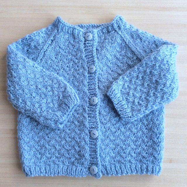 modèle de tricot bébé Petit biscuit
