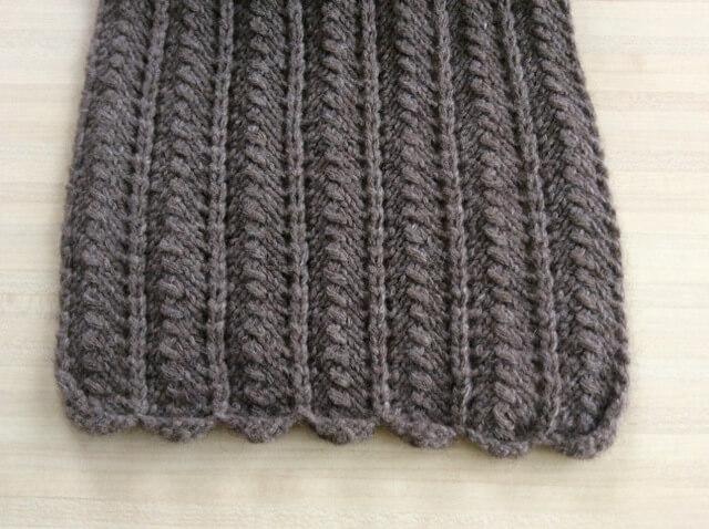 joli point de tricot