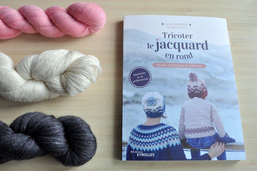 tricoter le jacquard en rond
