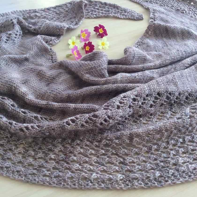 patron de châle tricot