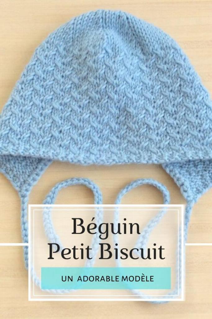 Bonnet béguin Petit biscuit