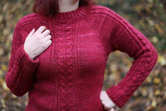 Pull Pardalis, un modèle de tricot femme de Folie ordinaire
