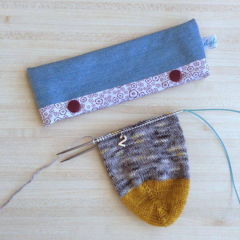 anneaux marqueurs pour chaussettes aiguille circulaire 2