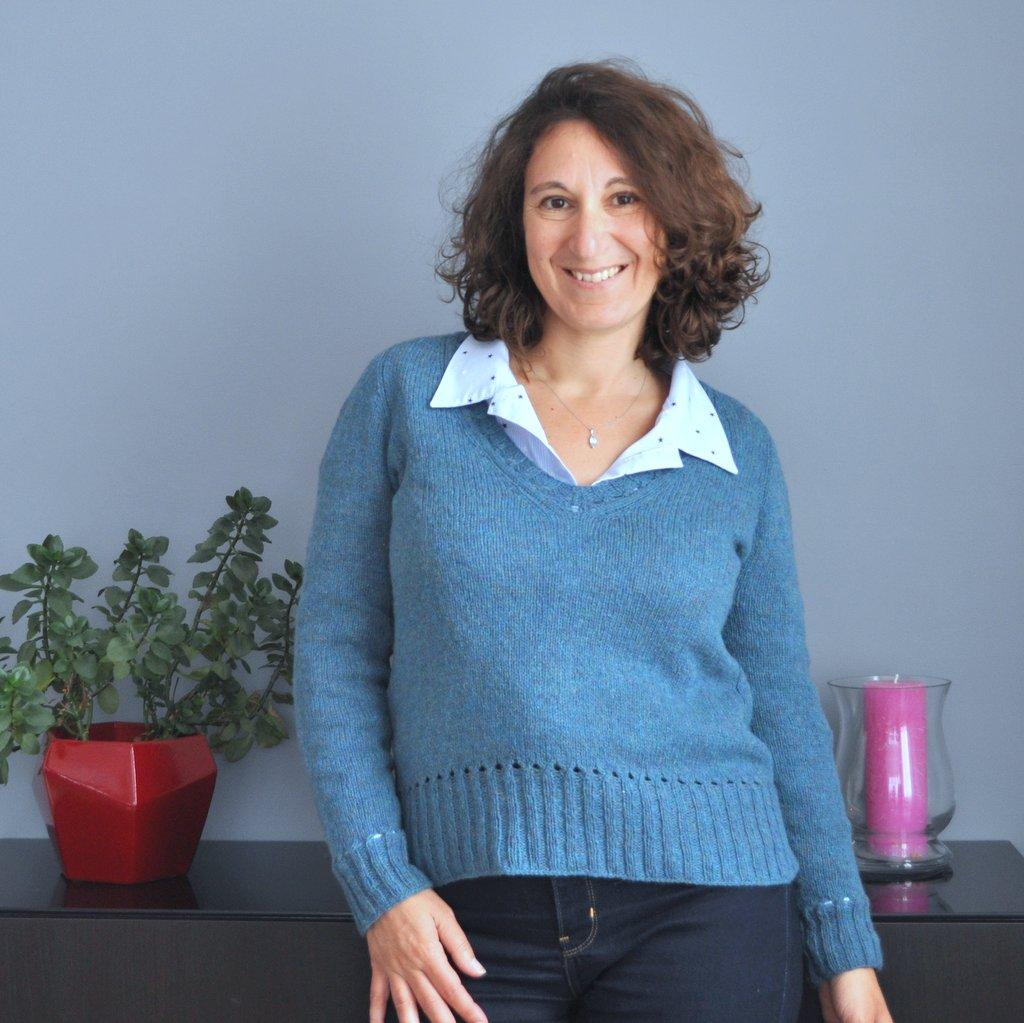patron de tricot femme