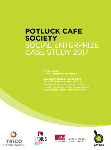 Potluck Cafe Society: Social EnterPrize Case Study