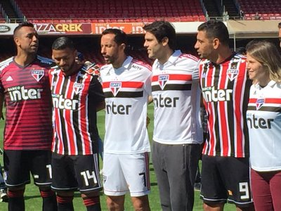 d44b9126b0b São Paulo lança novo uniforme