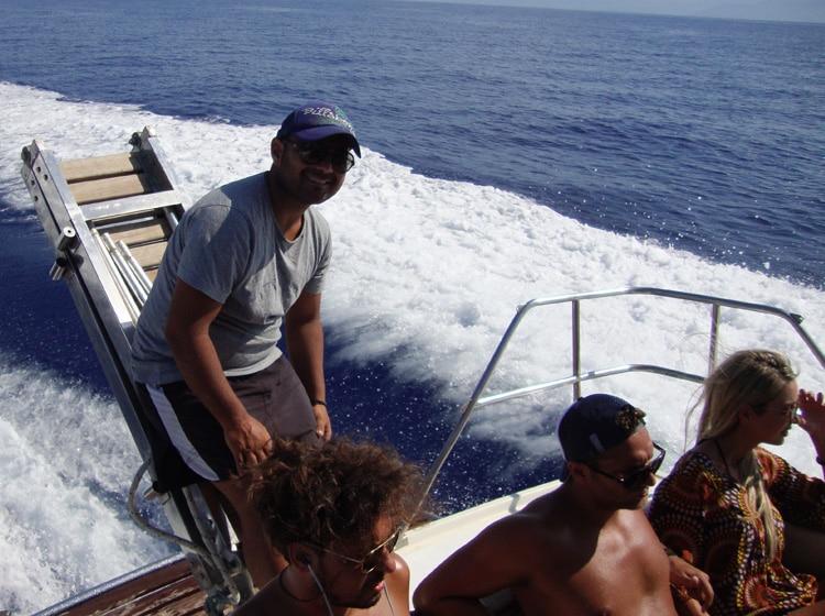 Trident Speedboat Cruises Team
