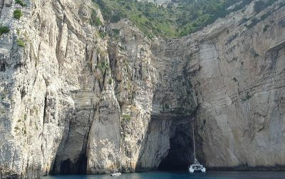 Paxos Blue Caves
