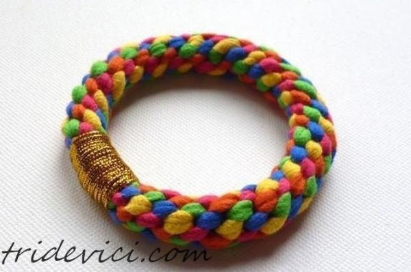 плетенный браслет своими руками (1)