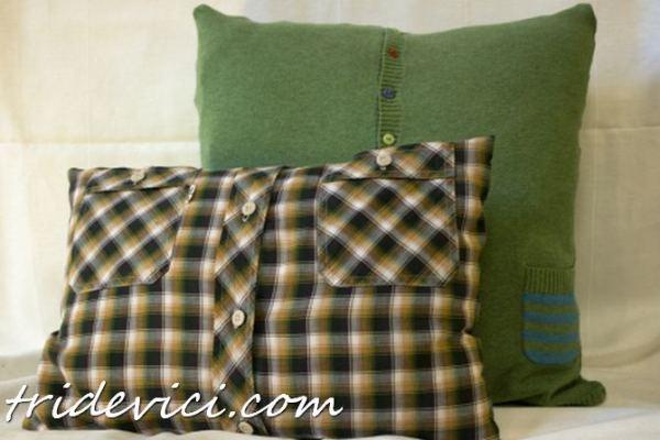 подушка из рубашки (2)