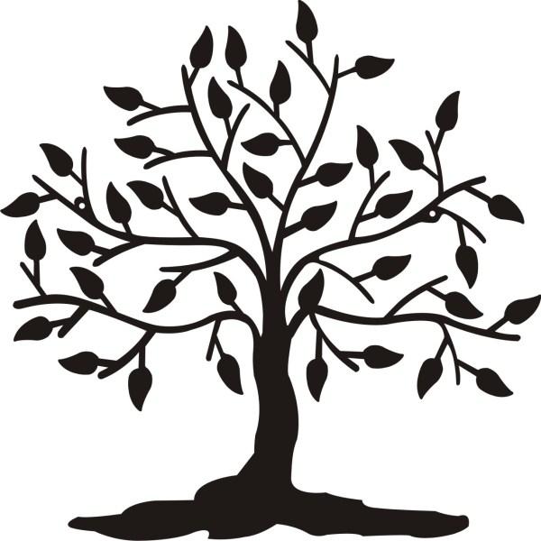 трафарет дерева (26)