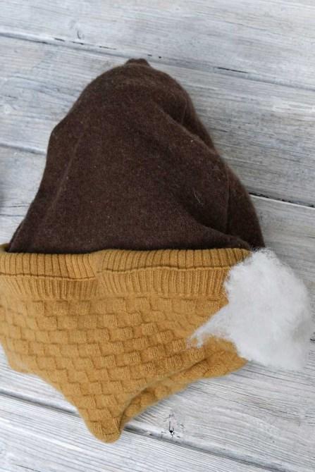 подушка из свитера набивка
