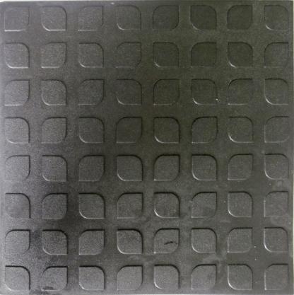 Rubber Floor Tile Steps