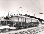 <h5>Triebwagen 11 in Rapperswil</h5><p>Werkbild MFO</p>