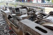 <h5>Drehgestell</h5><p>Das erste mal haben wir freien Blick auf die Drehgestelle</p>