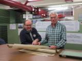<h5>Ruedi und Röbi bei SBB Historic</h5><p>Ruedi und Röbi forschen in Winterthur bei SABB Historic nach Zeichnungen der Drehgestelle</p>