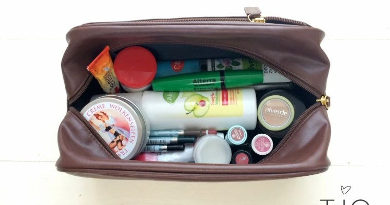 What's in my make-up bag? – Vietnam Reise-Edition