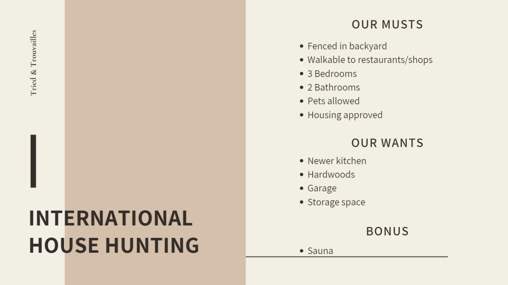 image - International House Hunting