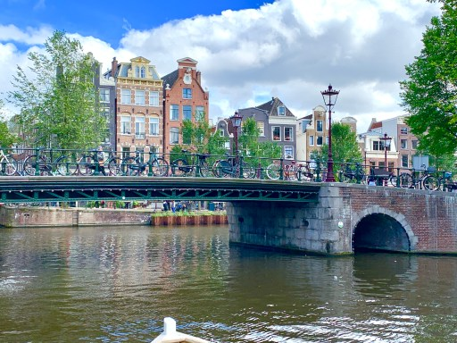 Things to do in Amsterdam - explore the canals and take a boat ride