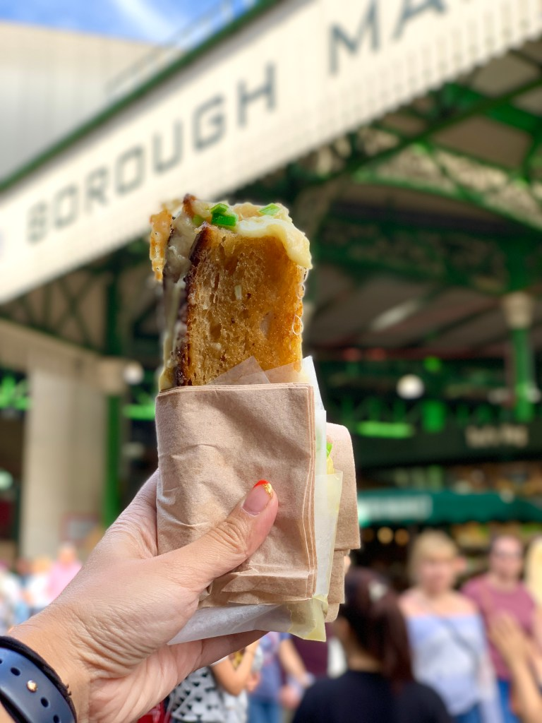 The best grilled cheese at the Borough Market in London