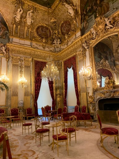 Napoleon Apartments in the Louvre
