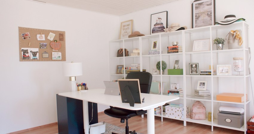 German House Tour – Home Office