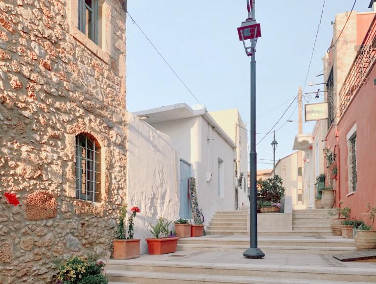 Malia in Crete, Greece