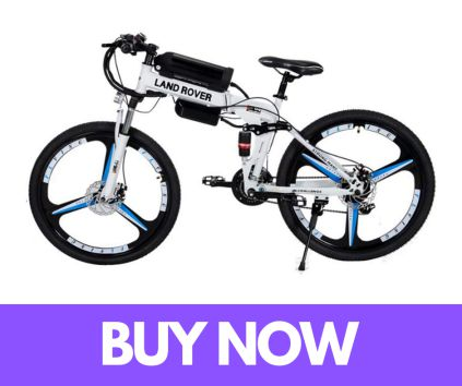 BYYLH Electric Folding Mountain MenLadies Bike