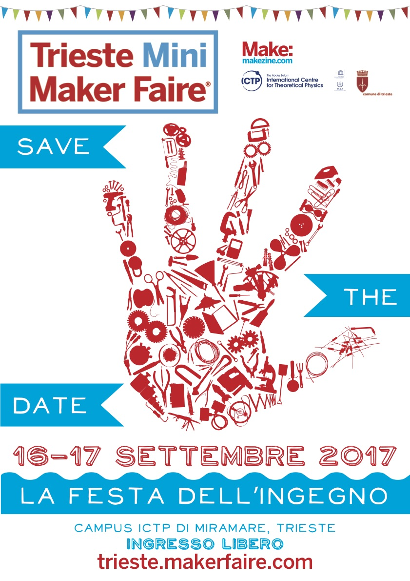 Save The Date 16 17 September 2017 Trieste Mini Maker