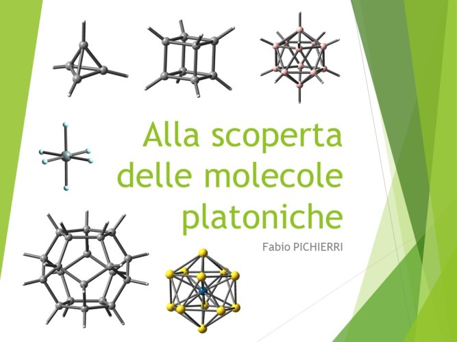 Alla scoperta delle molecole platoniche