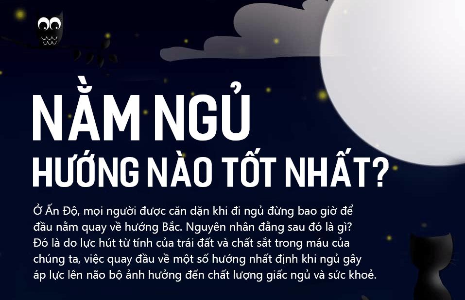 [THĐP Translation] Nằm ngủ hướng nào tốt nhất theo trí tuệ Ấn Độ