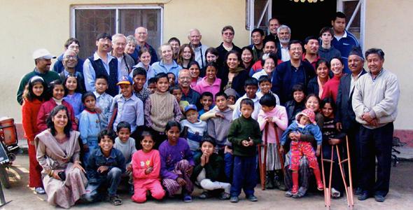 Provided rent assistance for Disabled Newlife Centre (DNC) – Kathmandu, Nepal