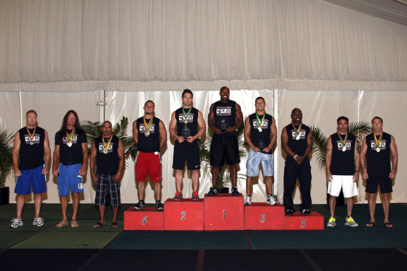 Congratulations to Willie Thomas on becoming the 2011 Men's Tri-Fitness World Champion!
