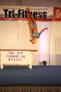 Jennifer Rosen - Tri-Fitness champion & 1st in routine