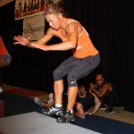 Plyometric jumps Tri-Fitness box jumps- 50 as fast as you can!