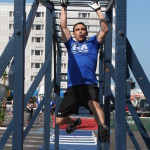 Obstacle Course Tri-Fitness Monkey Bars
