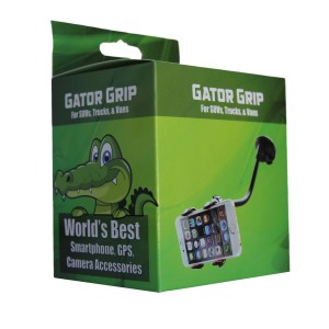 Gator Grip - World's Best Cell Phone Holder!