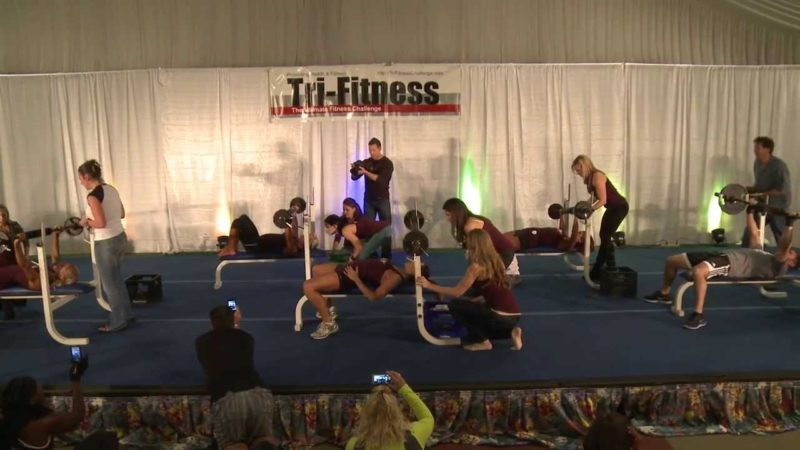 Benchpress at the 2012 Tri-Fitness Nationals